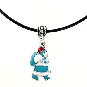 Victorian Santa Necklace
